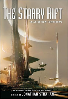 Book Cover of The Starry Rift - Tales of New Tomorrows by Jonathan Strahan