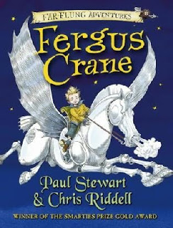 Book Cover of Fergus Crane by Paul Stewart and Chris Riddell