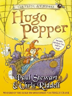 Cover of Hugo Pepper by Paul Stewart and Chris Riddell