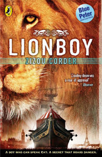 Cover of Lionboy by Zizou Corder