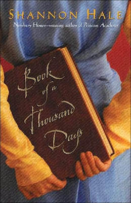 Book Cover Art of Book of a Thousand Days by Shannon Hale