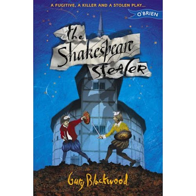 Cover Art of The Shakespeare Stealer by Gary Blackwood