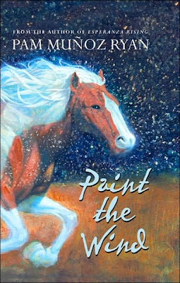 Book Cover Art for Paint the Wind by Pam Muñoz Ryan