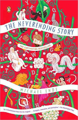 Book Cover Art for The Neverending Story by Michael Ende