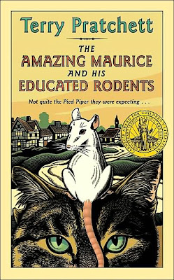 Book Cover Art for The Amazing Maurice and his Educated Rodents by Terry Pratchett