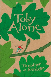 Book Cover Art for Toby Alone by Timothee de Fombelle