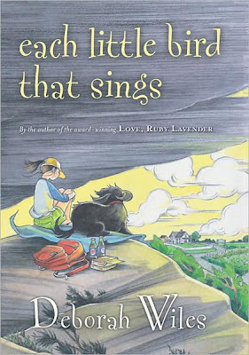 Book Cover Art for Each Little Bird that Sings by Deborah Wiles