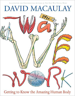 Book Cover Art for The Way We Work by David Macaulay