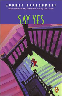 Book Cover Art for Say Yes by Audrey Couloumbis