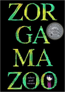 Book Cover Art for Zorgamazoo by Robert Paul Weston
