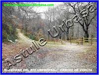 Nº 5 Paso de Madera .Camino de Vuelta. Reserva Natural del Río Urederra. Parque Natural Urbasa. Ruta de las Cascadas desde Baquedano, Centro de Turismo Rural y Agroturismo  Casa Rural Navarra Urbasa Urederra. Ven a conocernos… te sorprenderás