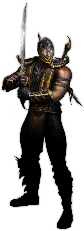 Scorpion in Mortal Kombat 2011 title=