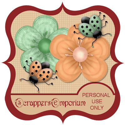 http://scrappersemporium.blogspot.com/2009/08/flowers-and-ladybugs-freebie.html