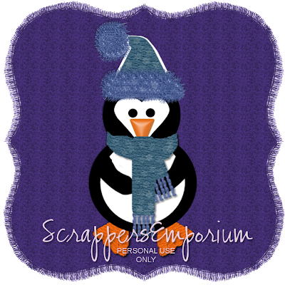 http://scrappersemporium.blogspot.com/2009/10/winter-penguin-freebie.html