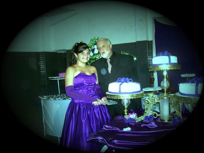 debutant carina almeida e mestre de cerimonias gilberto braga