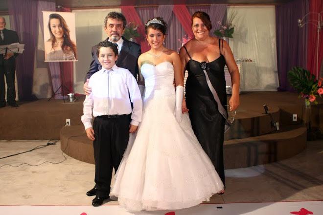 UM 15 ANOS INESQUECÍVEL!!!UMA LINDA FAMILIA!!!