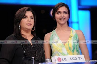 Deepika Padukone and Farah Khan