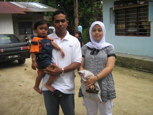 MY AUNTY SYARFINA & HER FAMILY