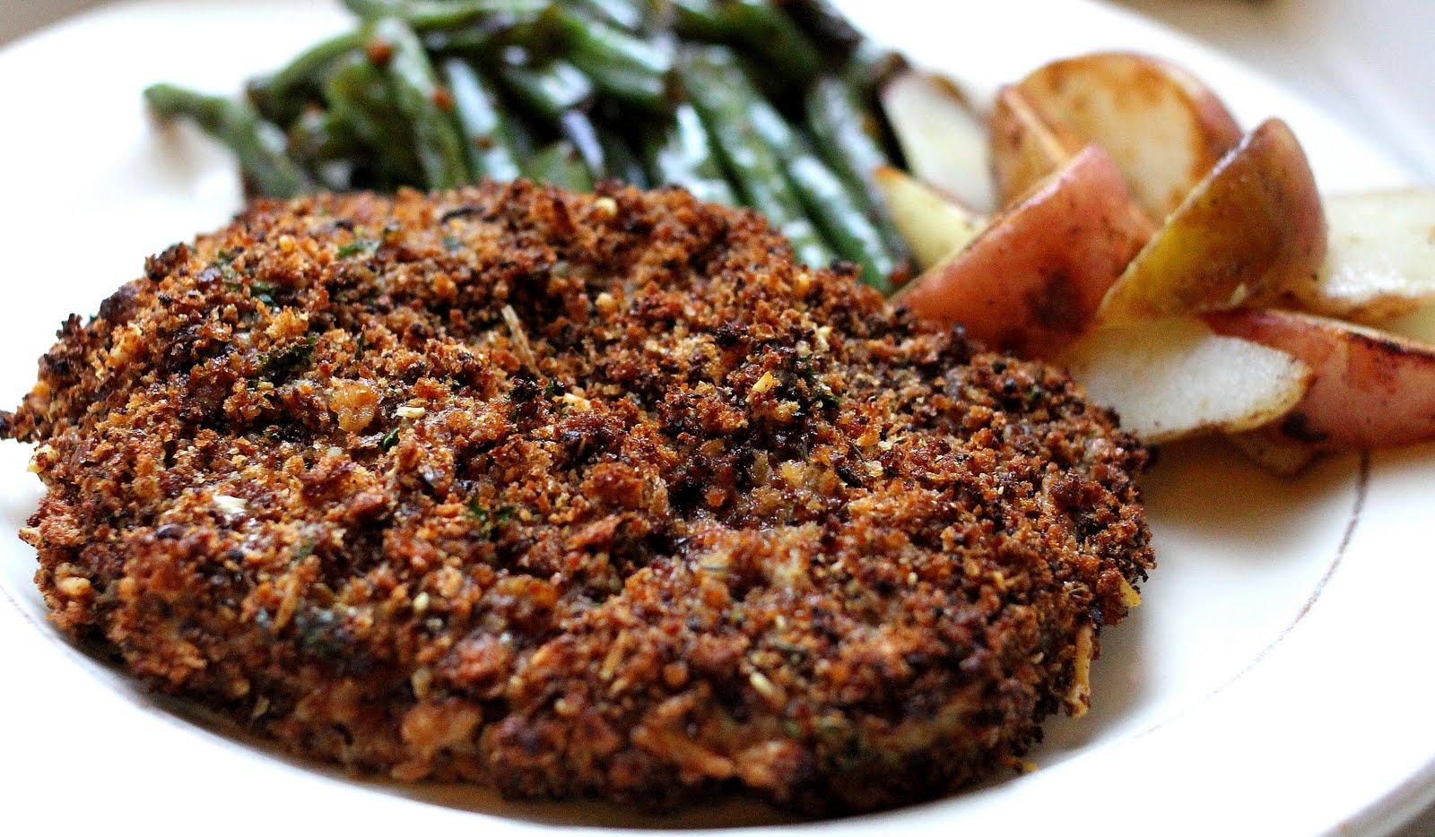 On My Menu: Crunchy Baked Pork Chops