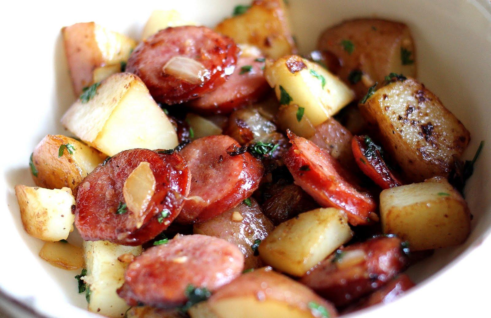Колбаски с картошкой в домашних условиях рецепт