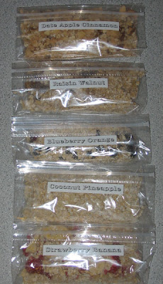 Vegan Lunch Box: Homemade Instant Oatmeal Packets