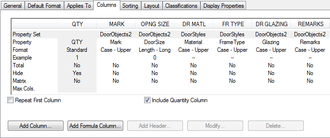 Aca scheduling by mark for Schedule of doors and windows sample