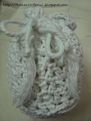 Free Pattern – Crochet Drawstring Bag | Free Pattern & Tutorial