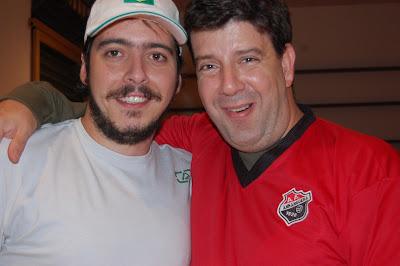 Arthur Tirone Favela e Eduardo Goldenberg, Sabiá, São Paulo, 15 de novembro de 2007