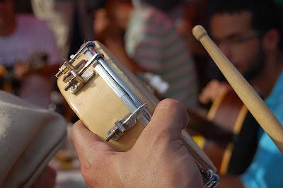 roda de samba em Paquetá, 24 de novembro de 2007
