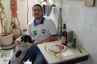 Pepperoni e Arthur Favela no Buteco do Edu, manhã de 08 de dezembro de 2007