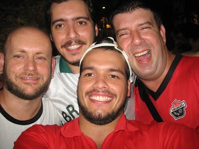 Luiz Antonio Simas, Arthur Favela, Bruno Tirone e Edu Goldenberg, Trapiche Gamboa, 08 de dezembro de 2007