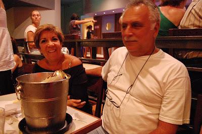 Isaac Goldenberg e Mariazinha Goldenberg, Teatro Rival, 16 de janeiro de 2008