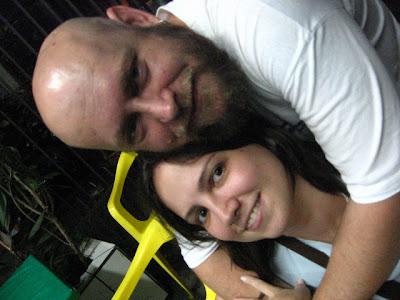 Candinha e Luiz Antonio Simas, Rio-Brasília, 24 de fevereiro de 2008