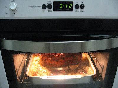 pernil assando no forno, 3h42min