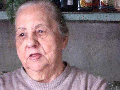 Dona Alzira, ARMAZÉM MATOSO, na rua do Matoso, na Tijuca, foto de Eduardo Goldenberg