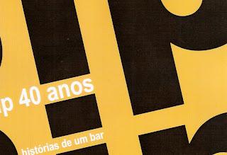 convite para o lançamento do livro BIP BIP, 40 ANOS - HISTÓRIAS DE UM BAR