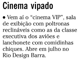 nota publicada na coluna GENTE BOA do SEGUNDO CADERNO de O GLOBO de 28 de maio de 2010