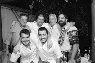 José Szegeri, Eduardo Goldenberg, Vladimir Tirone, Fernando Szegeri, Bruno Tirone e Arthur Tirone, 23 de maio de 2009, São Paulo