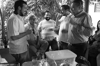 Bruno Tirone, Vladimir Tirone, Marcão Gramegna, Arthur Tirone e José Szegeri, 23 de maio de 2009, São Paulo