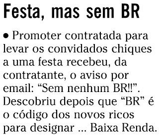 nota publicada na coluna GENTE BOA do jornal O GLOBO em 20 de agosto de 2009