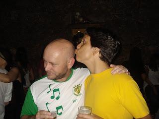 Luiz Antonio Simas e Felipe Quintans, 06 de setembro de 2009, foto de paparazzo contratado