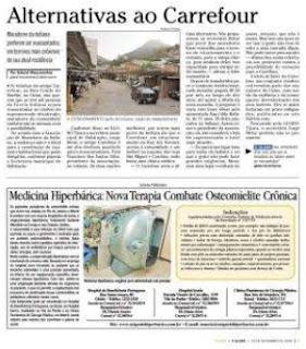 matéria publicada no jornal O GLOBO TIJUCA de 10 de setembro de 2009