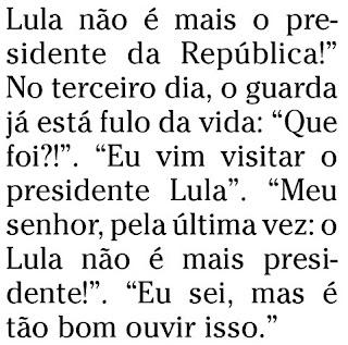 trecho da coluna de Ana Cristina Reis publicada no caderno ELA do jornal O GLOBO de 19 de dezembro de 2009