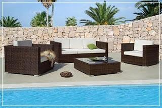 El minihogar for Muebles para piscina