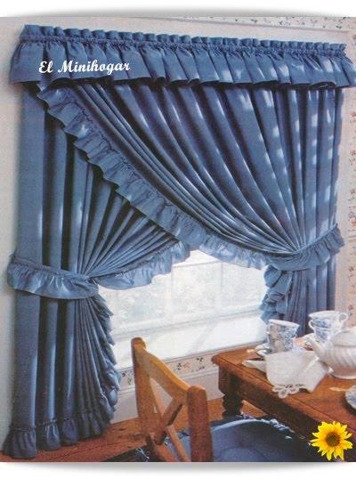 El minihogar - Volantes de cortinas ...