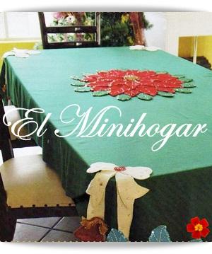 El minihogar - Hacer un mantel ...