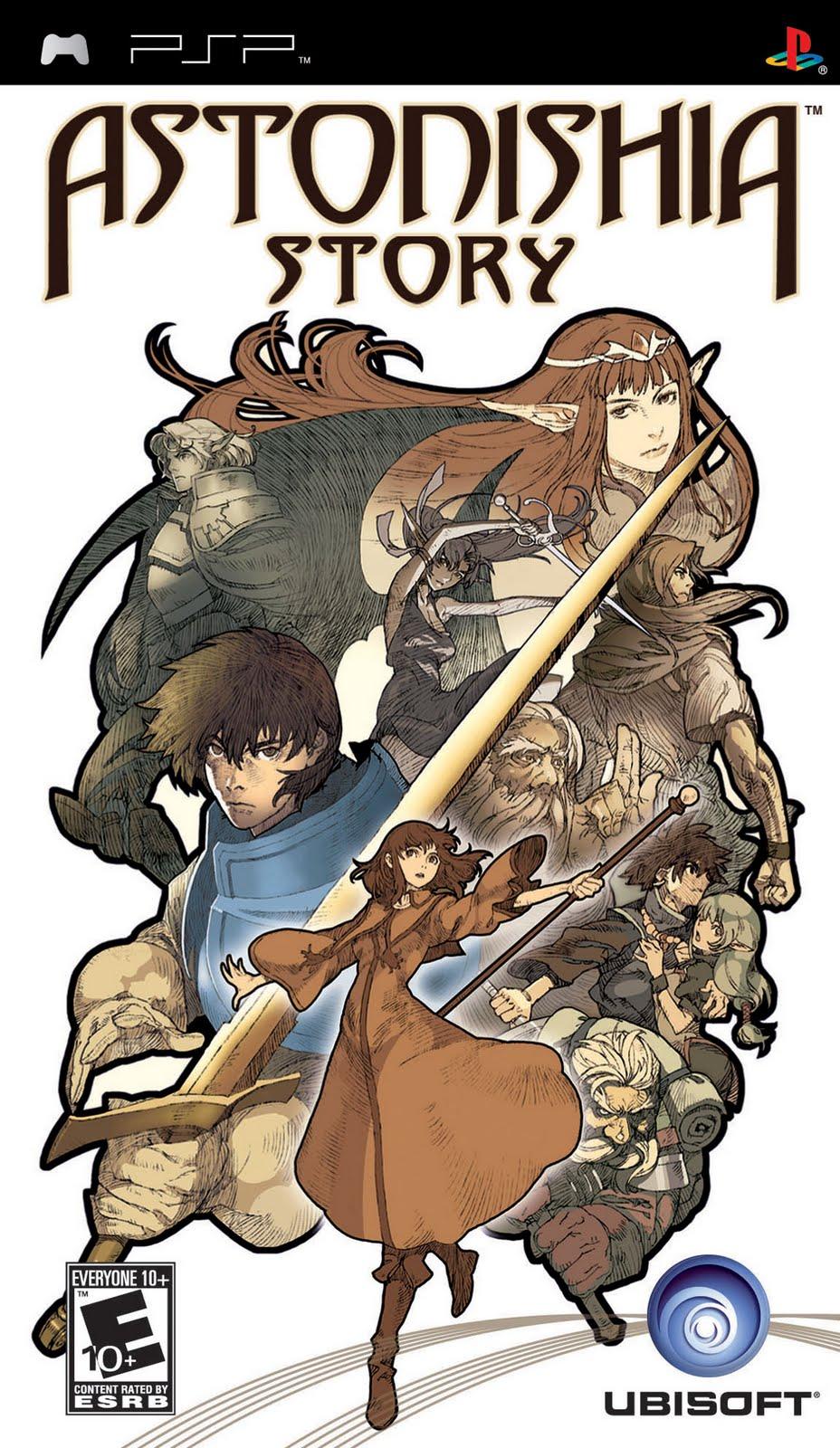 List of RPG games for PSP