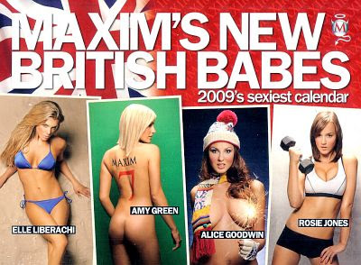 Maxim's New British Babes