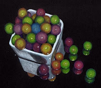Run Away Gumballs Copyright Jennifer Rose Phillip
