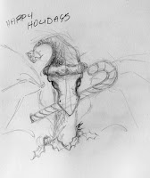 xmas dragon Copyright Jennifer Rose Phillip